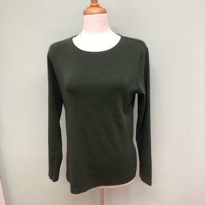 Ellen Tracy Long Sleeve Shirt (PM533)